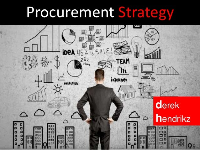 Procurement Strategy derek hendrikz