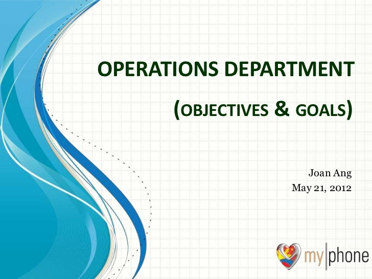 operation five objectives Open document below is an essay on 5 objectives of operation management from anti essays, your source for research papers, essays, and term paper examples.