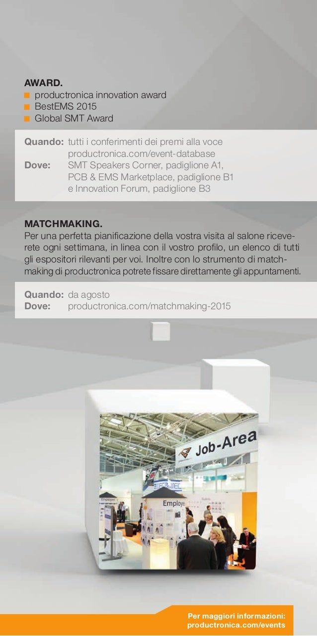 Matchmaking Productronica