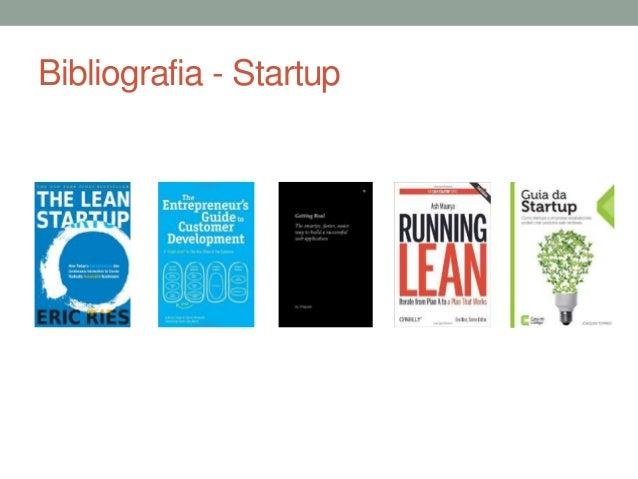 Bibliografia - Startup
