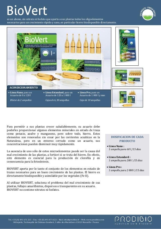 BioVertes un abono, sin nitrato ni fosfato que aporta a sus plantas todos los oligoelementosnecesarios para un crecimiento...