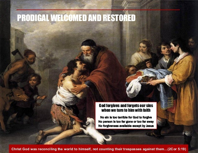 prodigal son story examined as our story