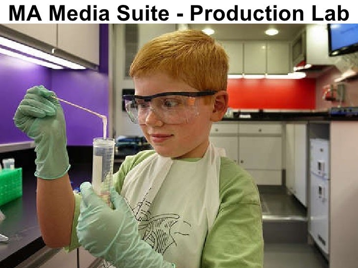 MA Media Suite - Production Lab