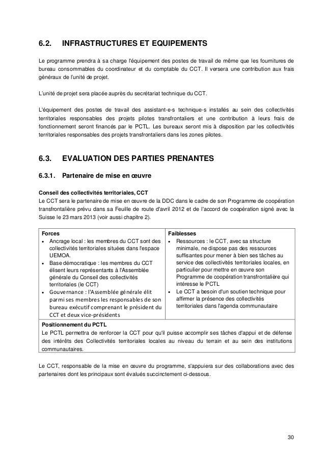 Programme de coop ration transfrontaliere locale du - Cabinet conseil collectivites territoriales ...