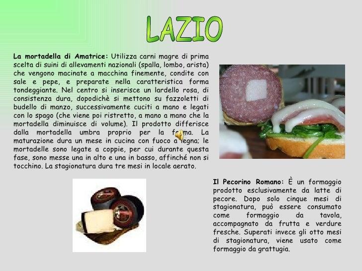 Prodotti tipici italiani for Roma prodotti tipici