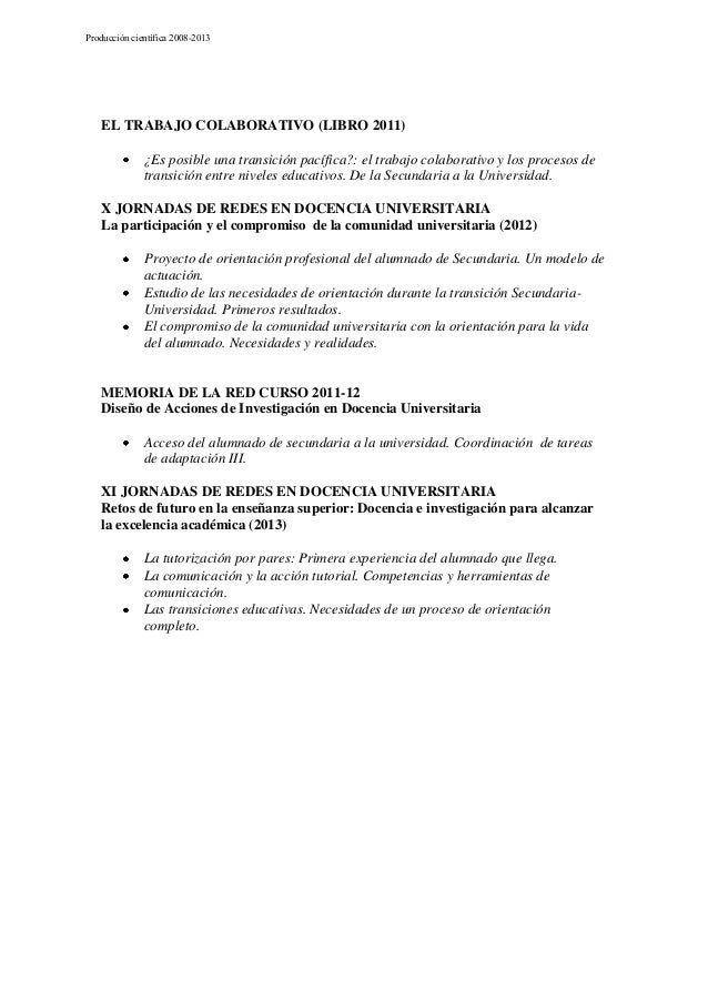 Producción cientifica de la Red (2009-2013) Slide 3