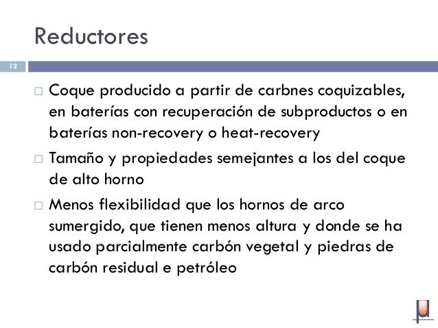 Producci N De Ferromanganeso En Horno De Cuba