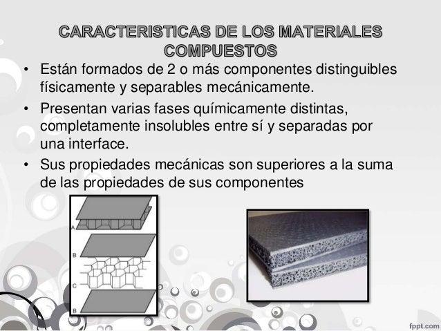 Propiedades de los materiales compuestos pdf download