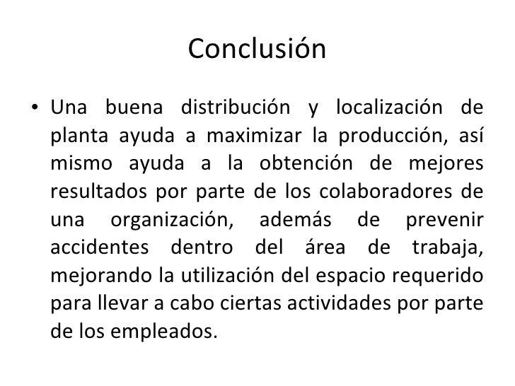 Producci n layout for Distribucion de espacios de trabajo