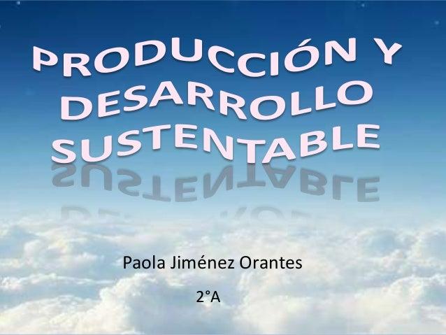 Paola Jiménez Orantes 2°A