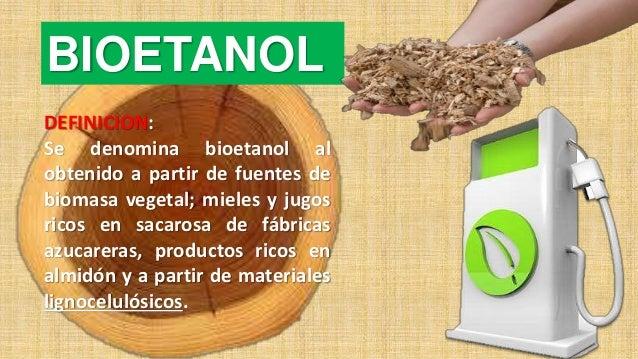 Produccion Bioetanol Lignocelulosico