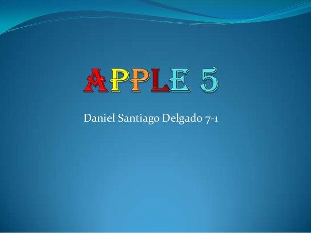 Daniel Santiago Delgado 7-1