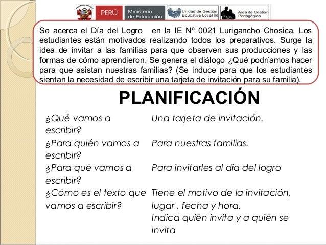 Estructura De Una Tarjeta De Invitacion