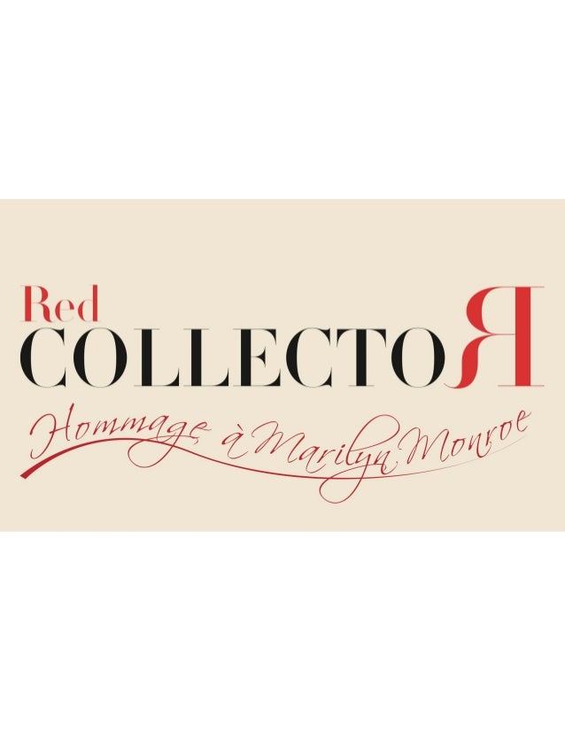 RED COLLECTOR magazine ultra luxe. Oracom / Jean-Louis Roux-Fouillet Slide 3