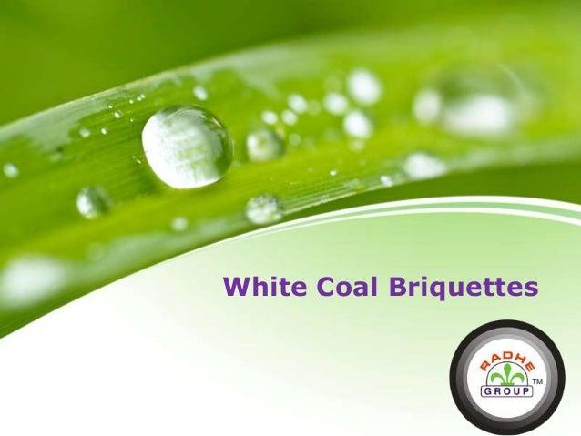 White Coal Briquettes Logo