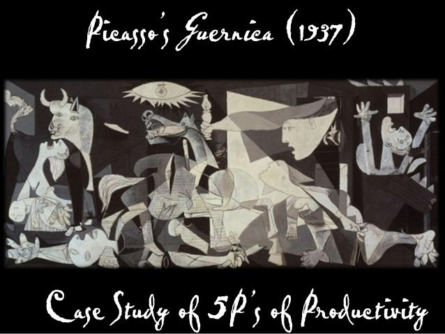 Picasso became a master designer by going through the 5P's of Productivity.