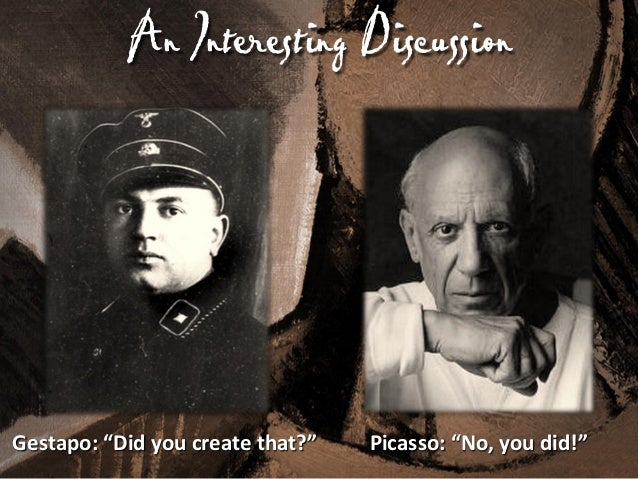5 P's of Productivity You can produce like Picasso. It takes passion, purpose, proficiency, persistence, and partnerships....
