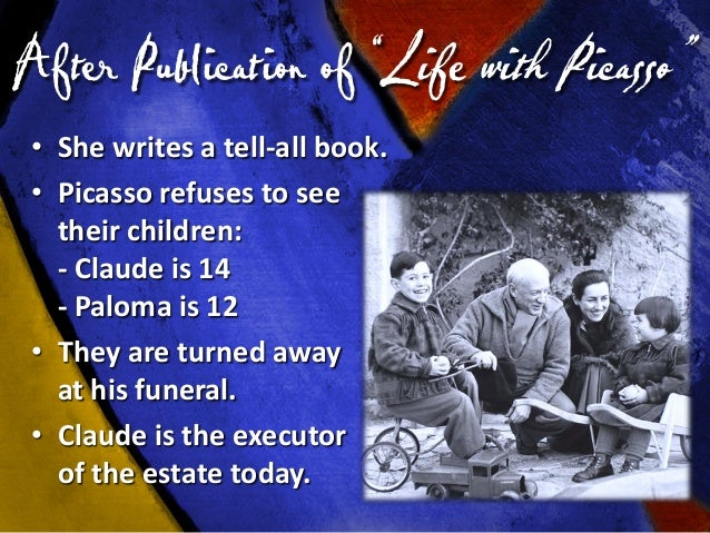 """The Paradox of Picasso """"It's not what the artist does that counts, but what he is."""""""
