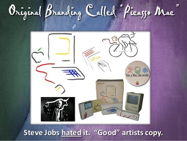 """F inder's Icon is Based on Picasso """"I do not seek. I find."""" - Pablo Picasso  """"Great"""" artists steal. Picasso's Two Characte..."""