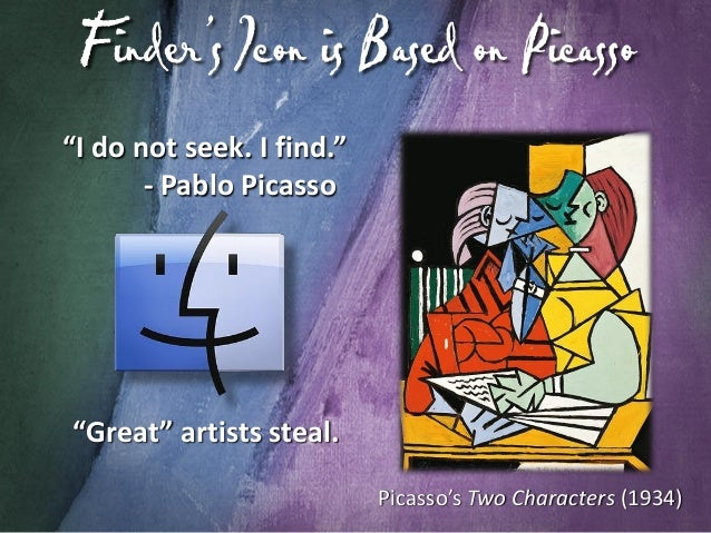 """Picasso Shown in """"Think Different"""" Ads"""