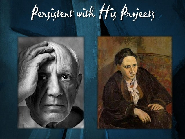Mastered Different Disciplines Picasso worked in different mediums— paintings, lithographs, etching, wood, steel, ceramics...