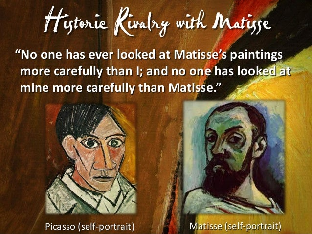 Their F riends Loved This Rivalry  Henri Rosseau  Leo Stein  Gertrude Stein  • Their friends encouraged the rivalry. • Ger...