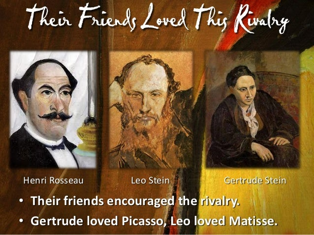 F riends Could Be Childish  Max Jacobs  Apollinaire  Matisse's Portrait  • Matisse gave Picasso a portrait of his daughter...