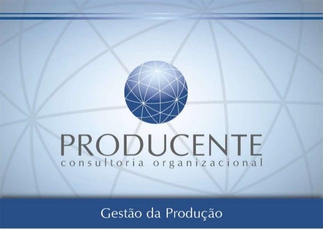 A Producente é uma empresa de consultoria orientada para a agregação de valor. Isso é realizado através do aumento da prod...