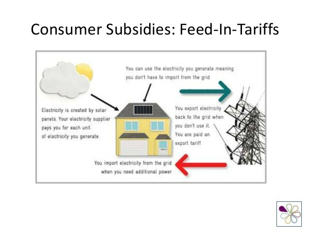 Producer And Consumer Subsidies