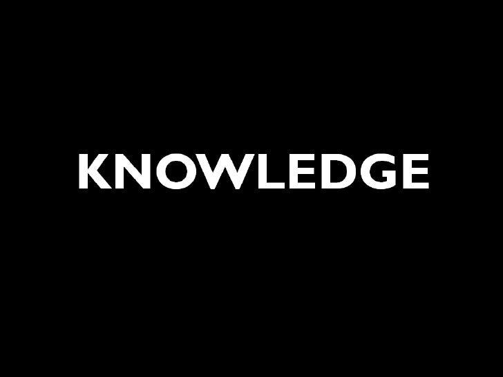 Week 1 - Producing knowledge