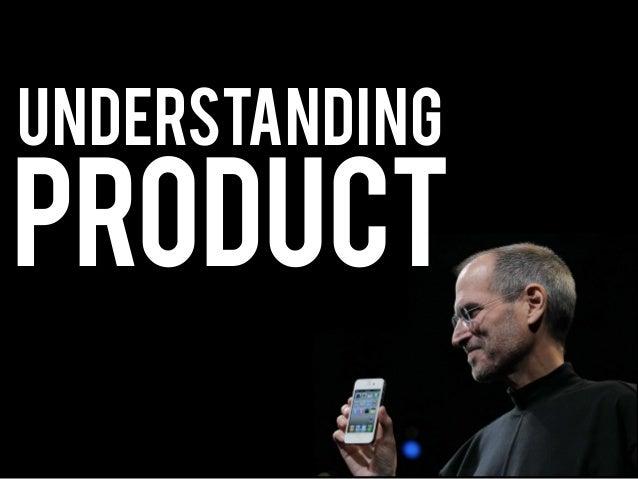 Product understanding