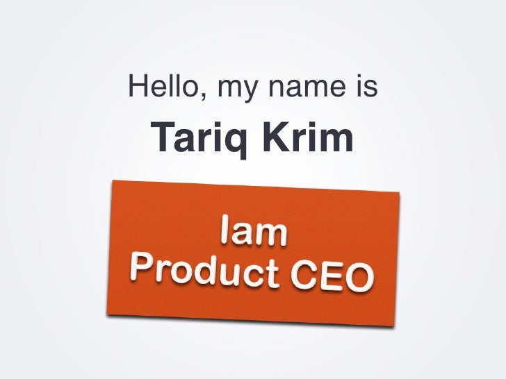 Product CEO vs The World Slide 2