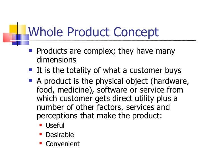 definition concept whole potential