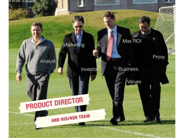 Product director Slide 3