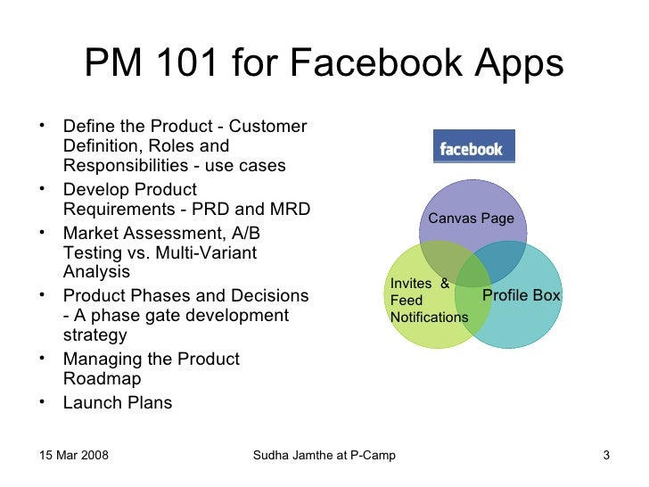 Product management in facebook economy p camp stopboris Image collections