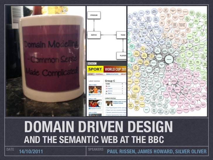 DOMAIN DRIVEN DESIGN         AND THE SEMANTIC WEB AT THE BBCDATE                   SPEAKERS       14/10/2011              ...