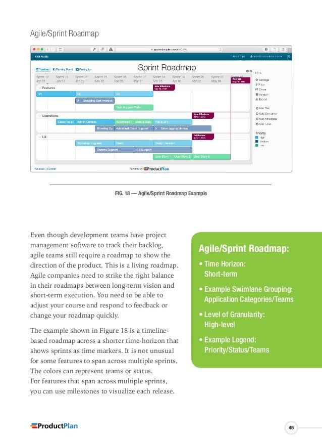 software development roadmap example
