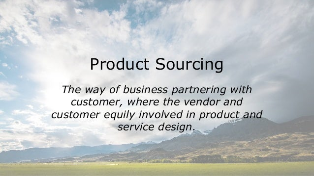 Succes of the product relates on how you start it