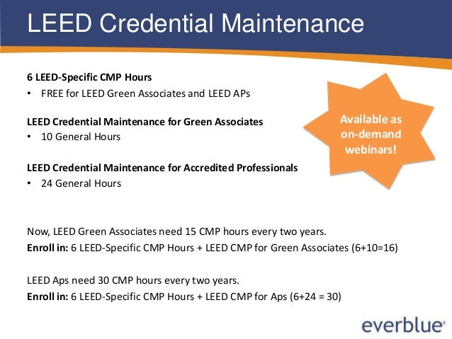 Introduction To Everblue 39 S Leed Training Courses