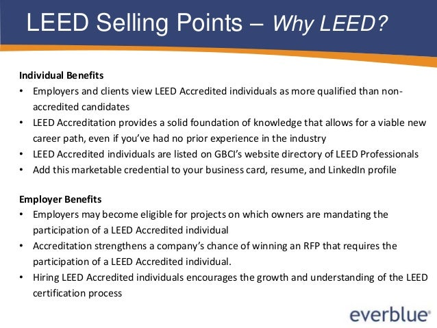 Introduction to Everblue's LEED Training Courses