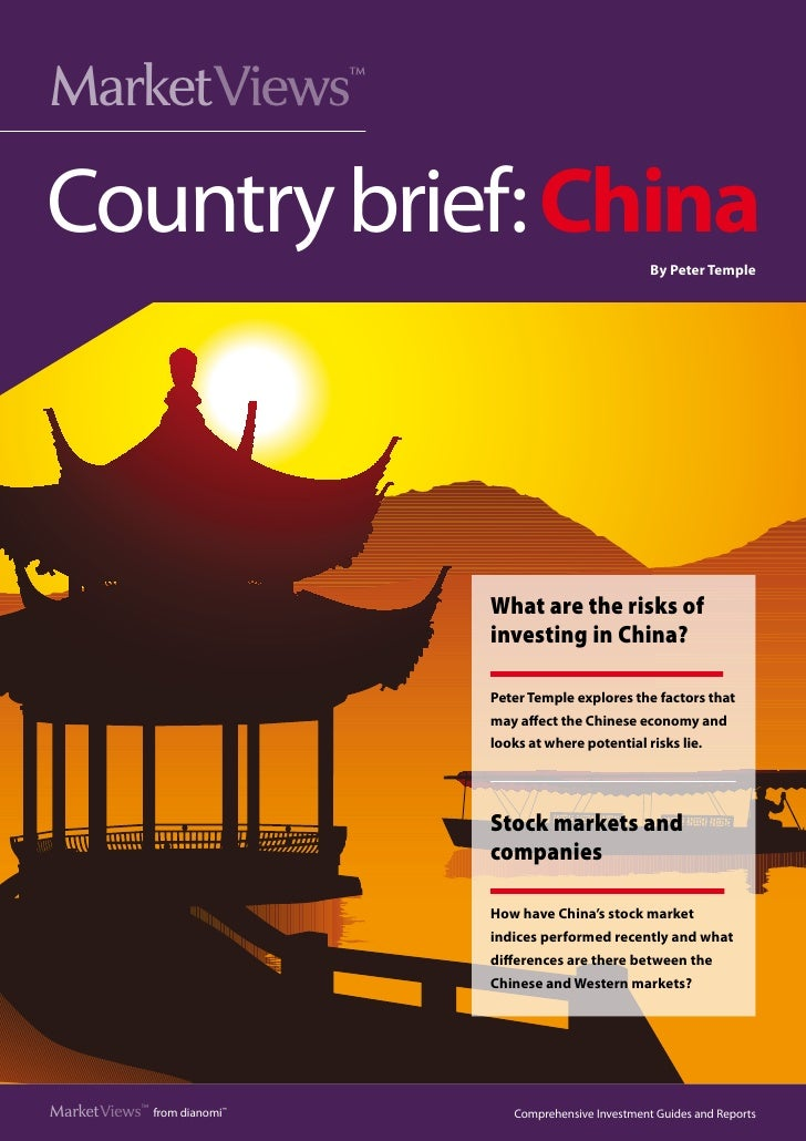 Market  iews      V                       ™Country brief: China                                         By Peter Temple   ...