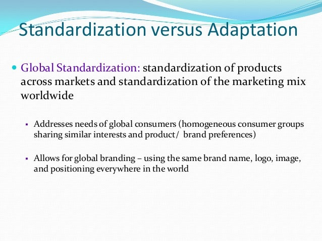 what is adaptation in marketing