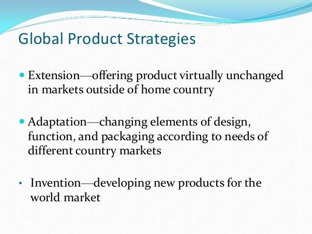 Adaptation Marketing Strategy