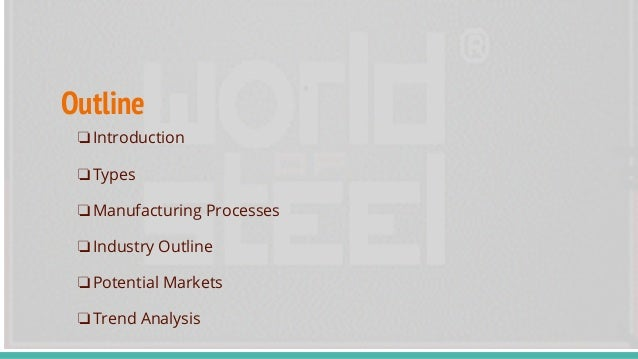 Product and Market Research of Steel Pipe and Tube Industry Slide 2