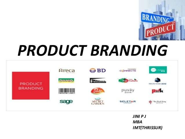 Branding a service vs. branding a product