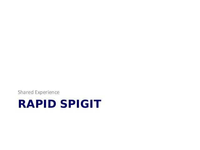 RAPID SPIGIT Shared Experience