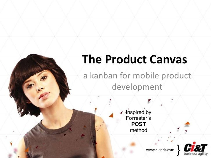 The Product Canvasa kanban for mobile product       development          Inspired by          Forrester's            POST ...