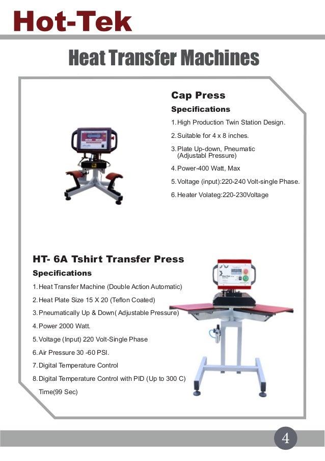 Hot Tek Product catalog 2018