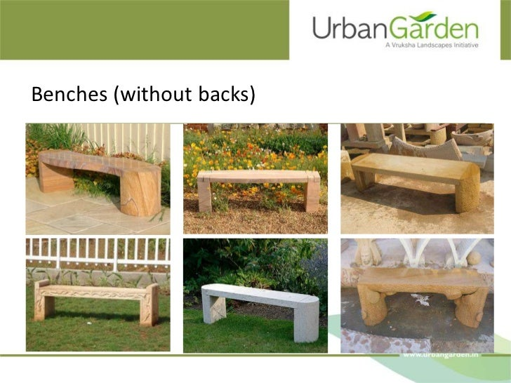 Benches (without backs)