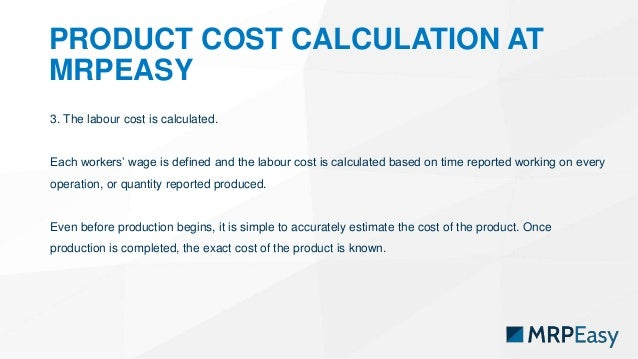 how to find product cost